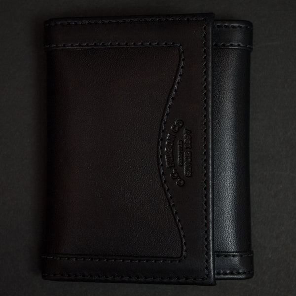 Filson Black Tri-Fold Wallet at The Lodge