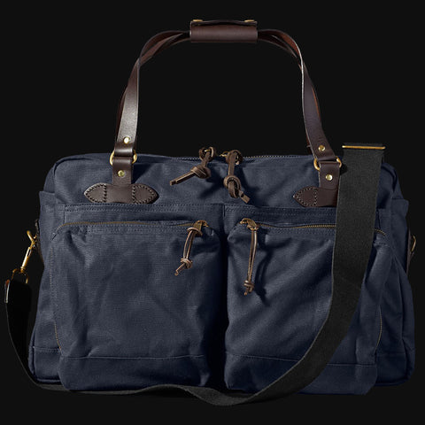 Filson 48-Hour Duffel Bag Navy Tin Cloth