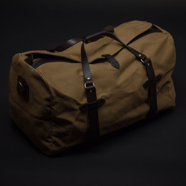 FILSON MEDIUM DUFFLE BAG TAN - THE LODGE  - 1
