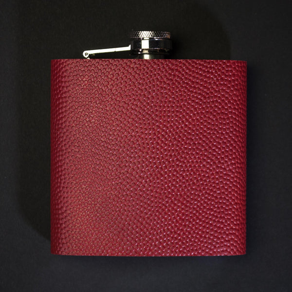 Football Leather Bardtown Flask at The Lodge Man Shop