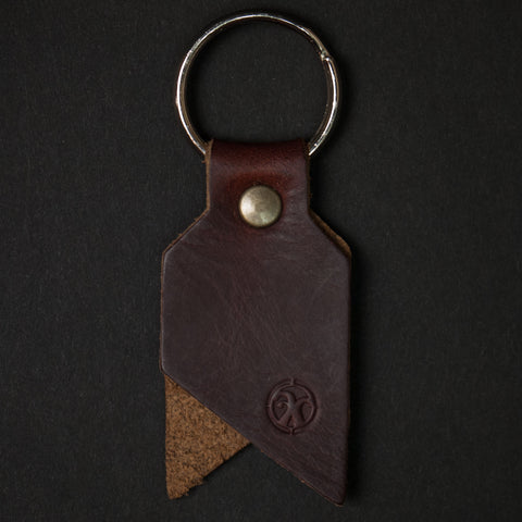 Friday & River Sail Keychain Dark Brown at The Lodge