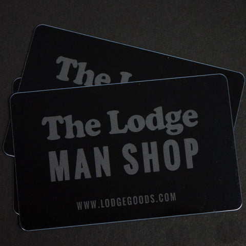 THE LODGE GIFT CARD $100