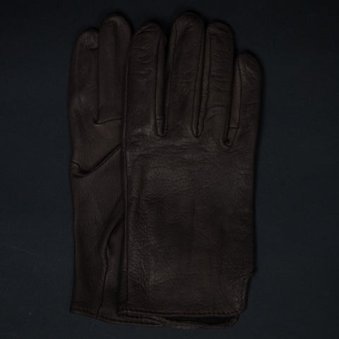 LEATHER GLOVES BROWN - THE LODGE  - 1