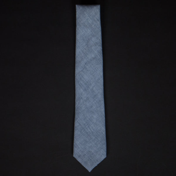 General Knot Cloud Linen Tie at The Lodge