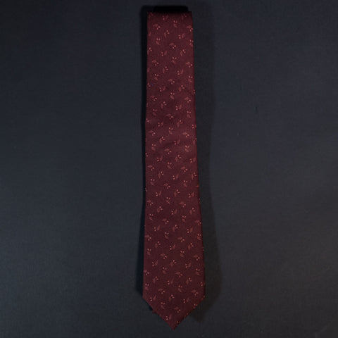 General Knot Cranberry Harvest Geo Men's Tie at The Lodge