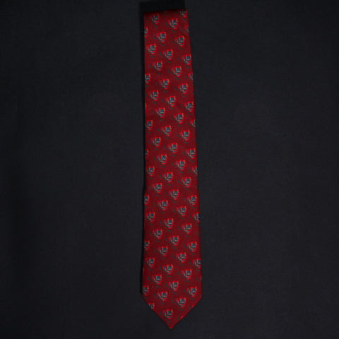 General Knot Crimson Avignon Tie at The Lodge