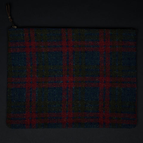 Large Dover Plaid Zip Organizer at The Lodge