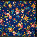 General Knot Vintage English Rose Floral Pocket Square at The Lodge