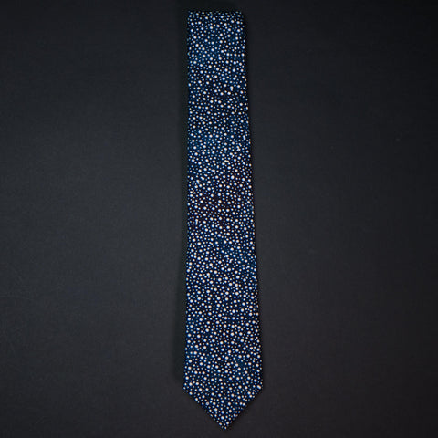 General Knot Indigo Constellation Men's Necktie at The Lodge