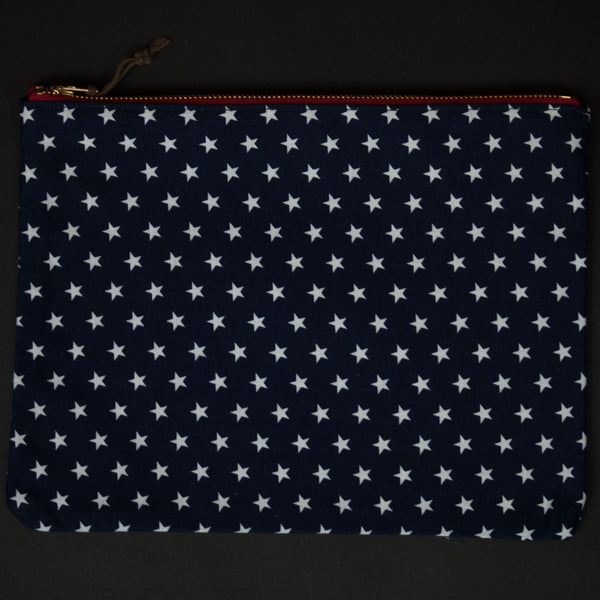 KNIEVEL STARS ZIP IPAD POUCH - THE LODGE  - 1