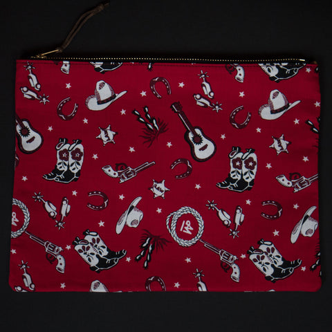 General Knot Western Motif Zip iPad Pouch at The Lodge