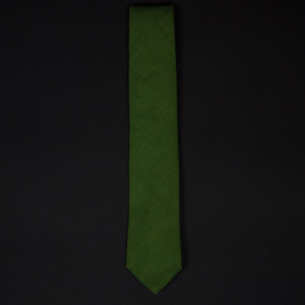 MOSS SOLID REQUISITE NECKTIE