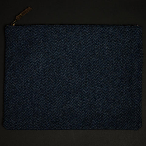 General Knot Large Navy Wool Organizer at The Lodge