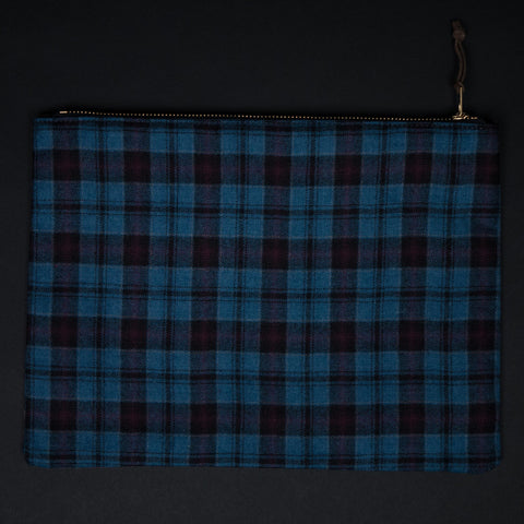 General Knot Ozark Plaid Zip Organizer Large at The Lodge Man Shop
