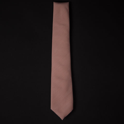 General Knot Peach Pincord Cotton Tie at The Lodge