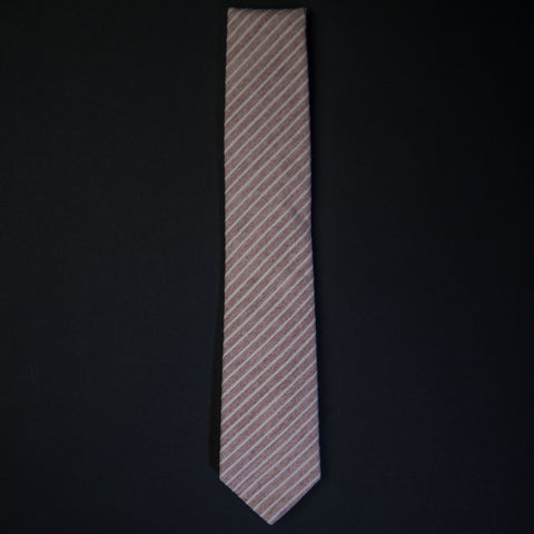 General Knot Blush Rope Stripe Tie at The Lodge