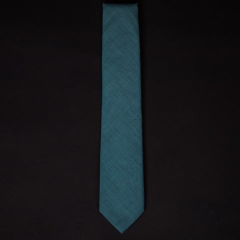 1930S SEA GLASS FRENCH SHIRTING TIE - THE LODGE  - 1