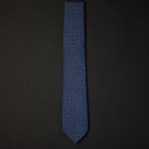 General Knot Tone on Tone Foulard Tie at The Lodge