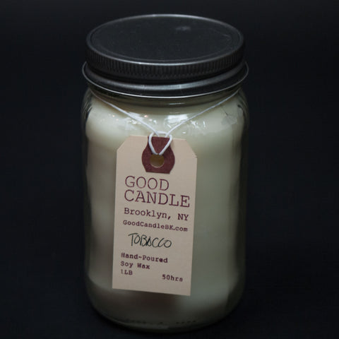Good Candle Company Tobacco Candle at The Lodge