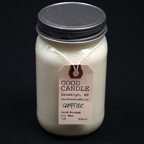 Good Candle Company Brooklyn Campfire Soy Wax Candle