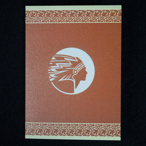 NATIVE CHIEF LETTERPRESS CARD SET - THE LODGE