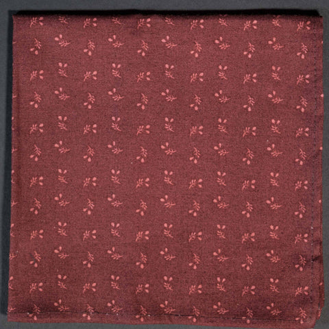 General Knot Cranberry Harvest Geo Pocket Square at The Lodge