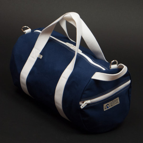 Hudson Sutler Niantic Commuter Duffle Navy at The Lodge