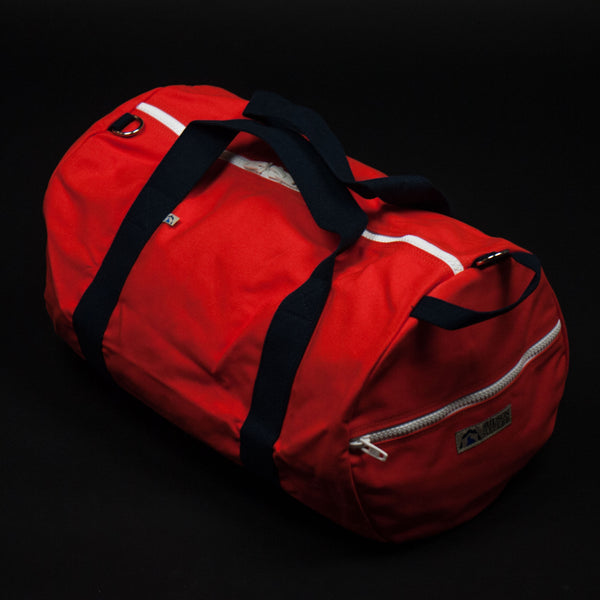 Hudson Sutler Saugatuck Weekender Duffel Orange at The Lodge