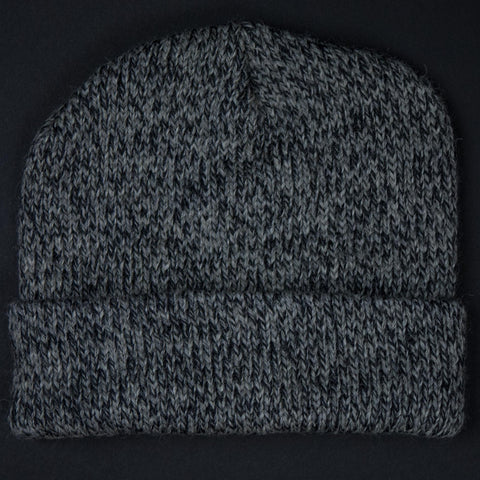 The Lodge Hudson Charcoal Heathered Knit Hat at The Lodge