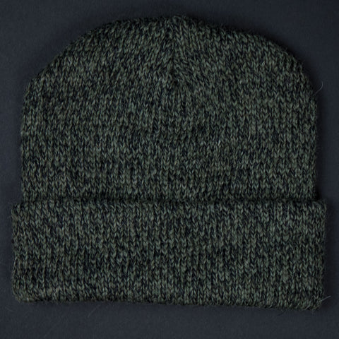 The Lodge Hudson Light Olive Heathered Knit Hat at The Lodge