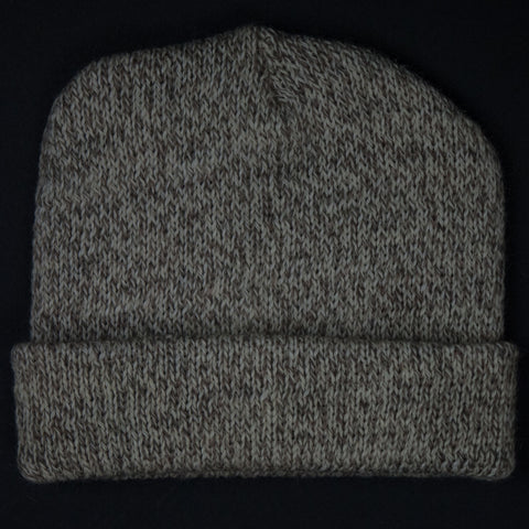 The Lodge Hudson Oatmeal Heathered Knit Hat at The Lodge