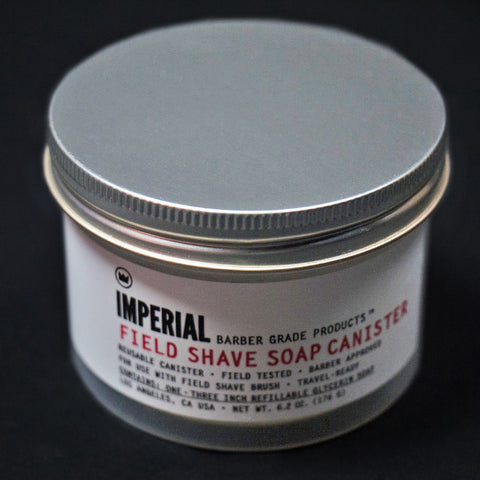 IMPERIAL BARBER FIELD SHAVE SOAP PUCK - THE LODGE  - 7