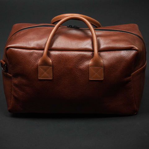 Jack + Mulligan Tan Hemingway Leather Duffel at The Lodge