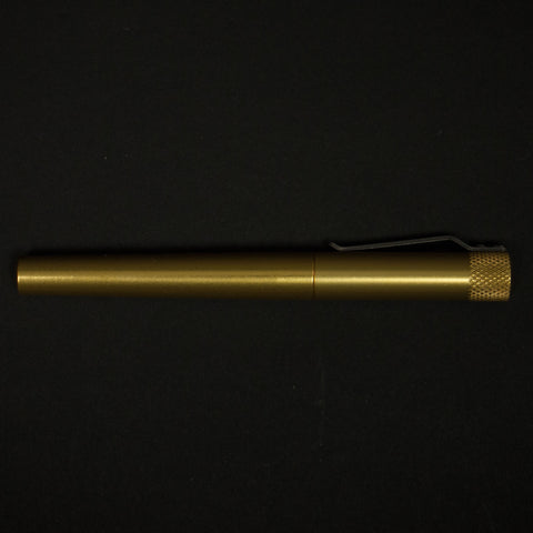 Karas Kustoms Render K Aluminum Gold Pen at The Lodge