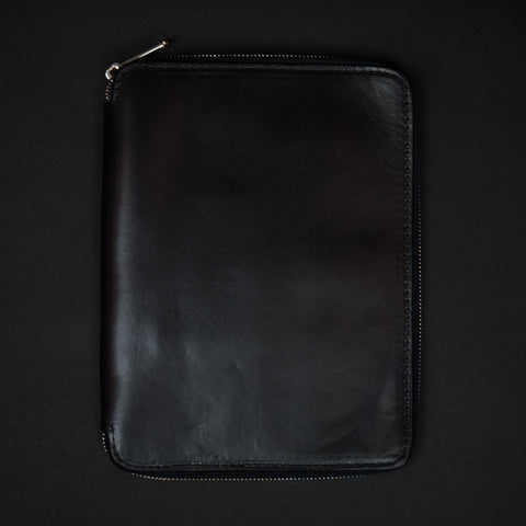 Laulom Black Ipad Mini Leather Zip Case at The Lodge