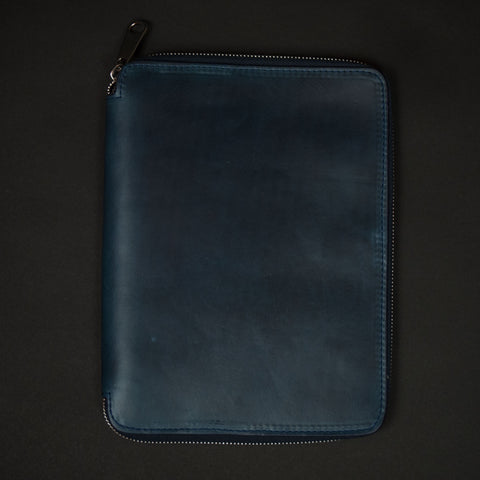 Laulom Navy iPad Mini Leather Zip Case at The Lodge
