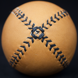 TAN LEATHER LEMON BALL BASEBALL - THE LODGE  - 2
