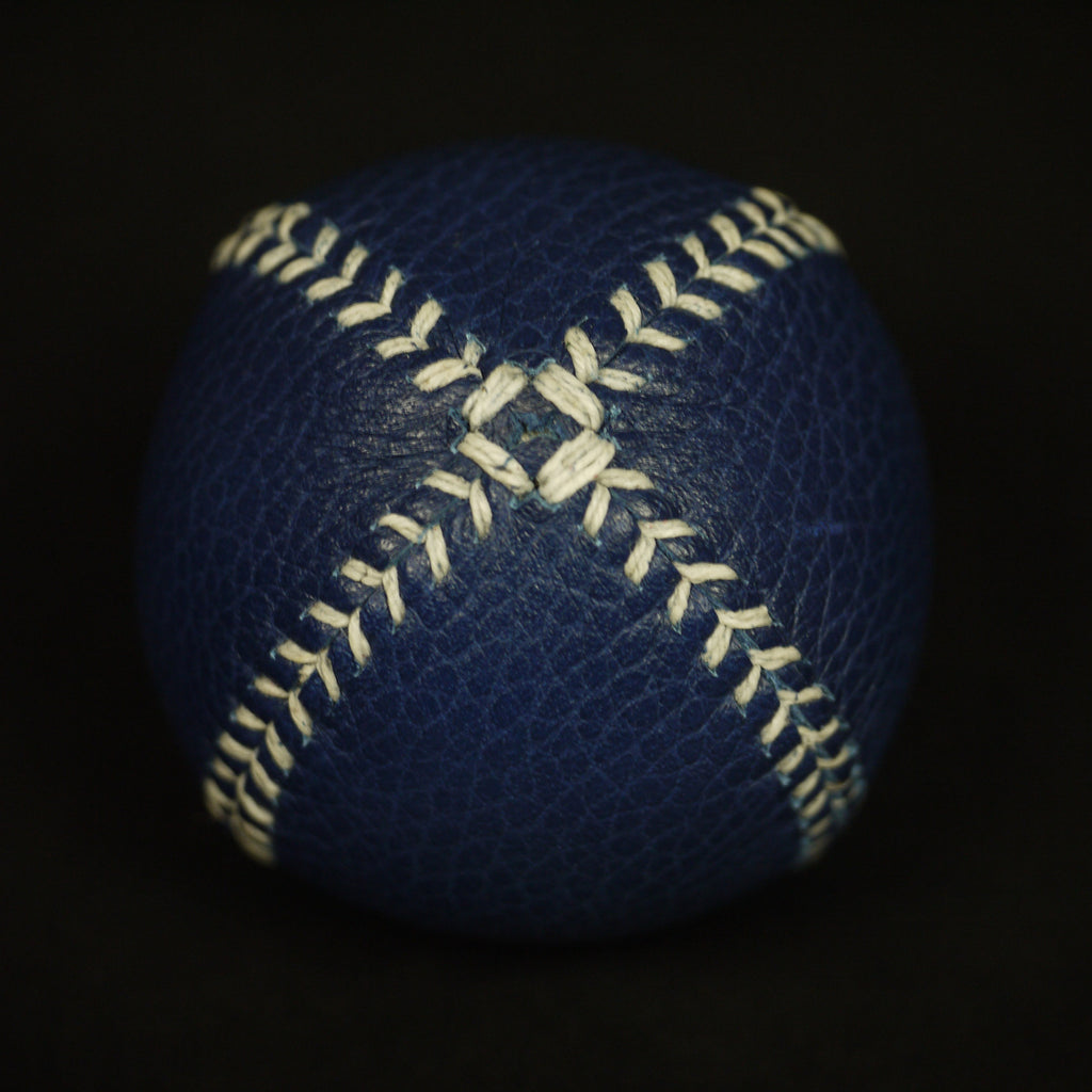 BLUE LEATHER LEMON BALL BASEBALL - THE LODGE  - 2