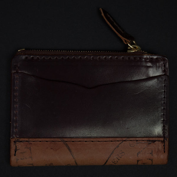Laulom Cordovan #8 Zip Coin Wallet at The Lodge