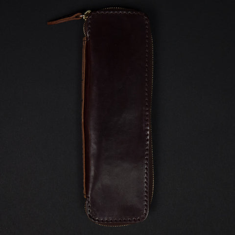 Laulom Shell Cordovan #8 Zip Pen Case at The Lodge