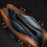 TAN LAULOM HORWEEN LEATHER BRIEFCASE