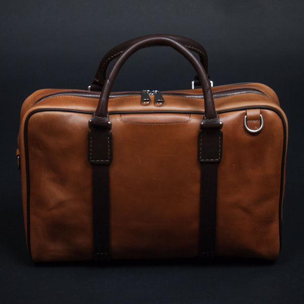 Laulom Tan Horween Leather Briefcase at The Lodge