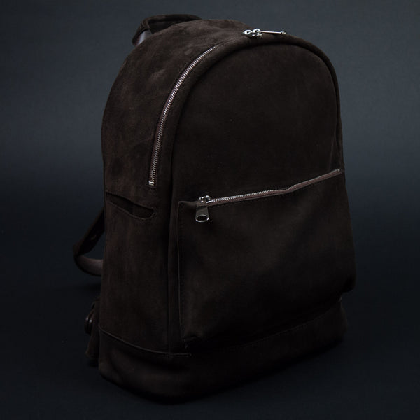 Laulom Brown Suede Backpack at The Lodge