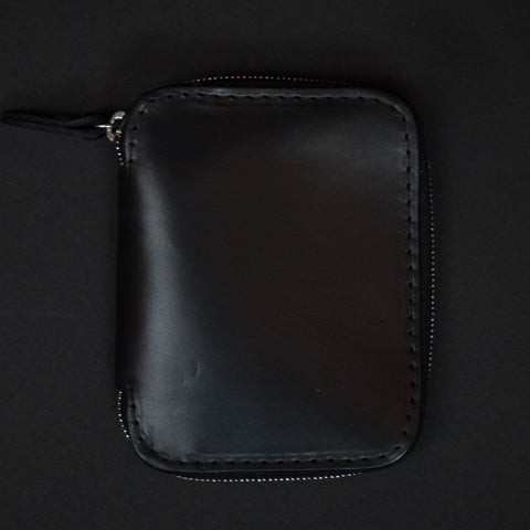 Laulom Black Leather Full Zip Wallet at The Lodge