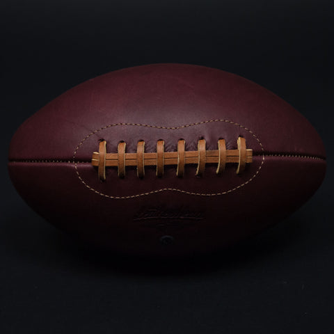 Leather Head Merlot Leather Football at The Lodge