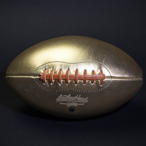 Leather Head Sports Golden Goose Leather Football at The Lodge