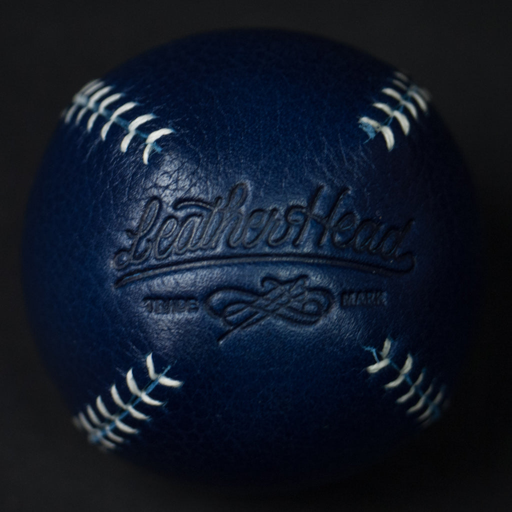 BLUE LEATHER LEMON BALL BASEBALL