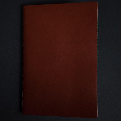 Ezra Arthur Cognac Leather Journal at The Lodge