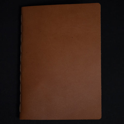 Ezra Arthur Golden Tan Leather Journal at The Lodge