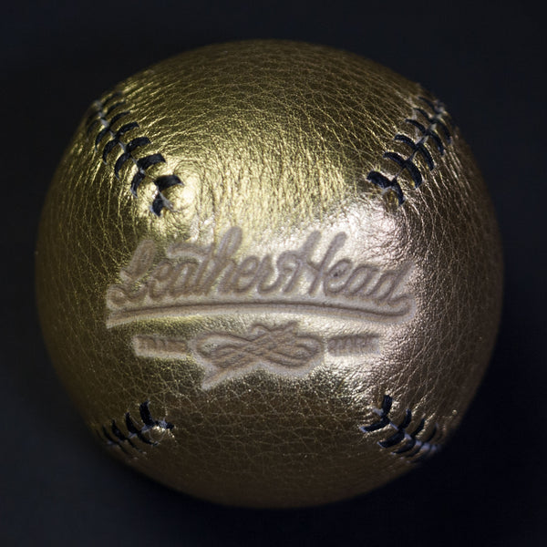 Leather Head Sports Gold Leather Lemon Ball at The Lodge